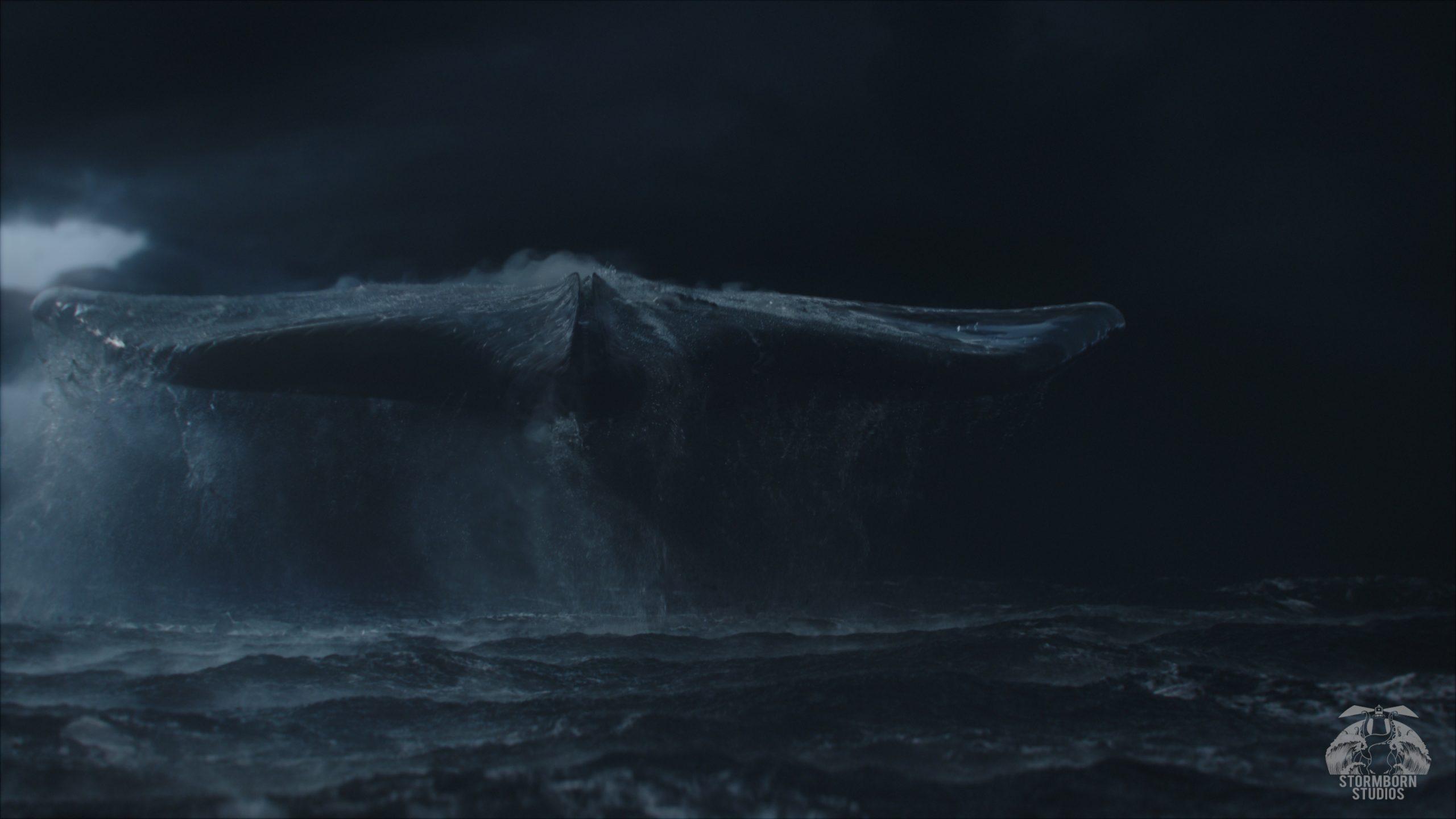 Stormborn Studios UFO above ocean